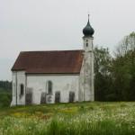 Berger Kirche vor Restaurierung