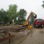Beginn Baustelle Neubau Kindergarten