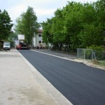 Ausbau Straße vor Schule und Kindergarten