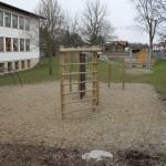 Neuanlage Spielgeräte im Schulgarten